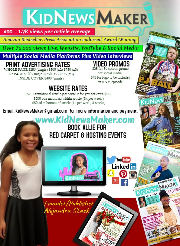 KIDNEWSMAKER RATE SHEET 2019