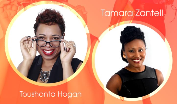 Tamara Zantell and Toushonta Hogan